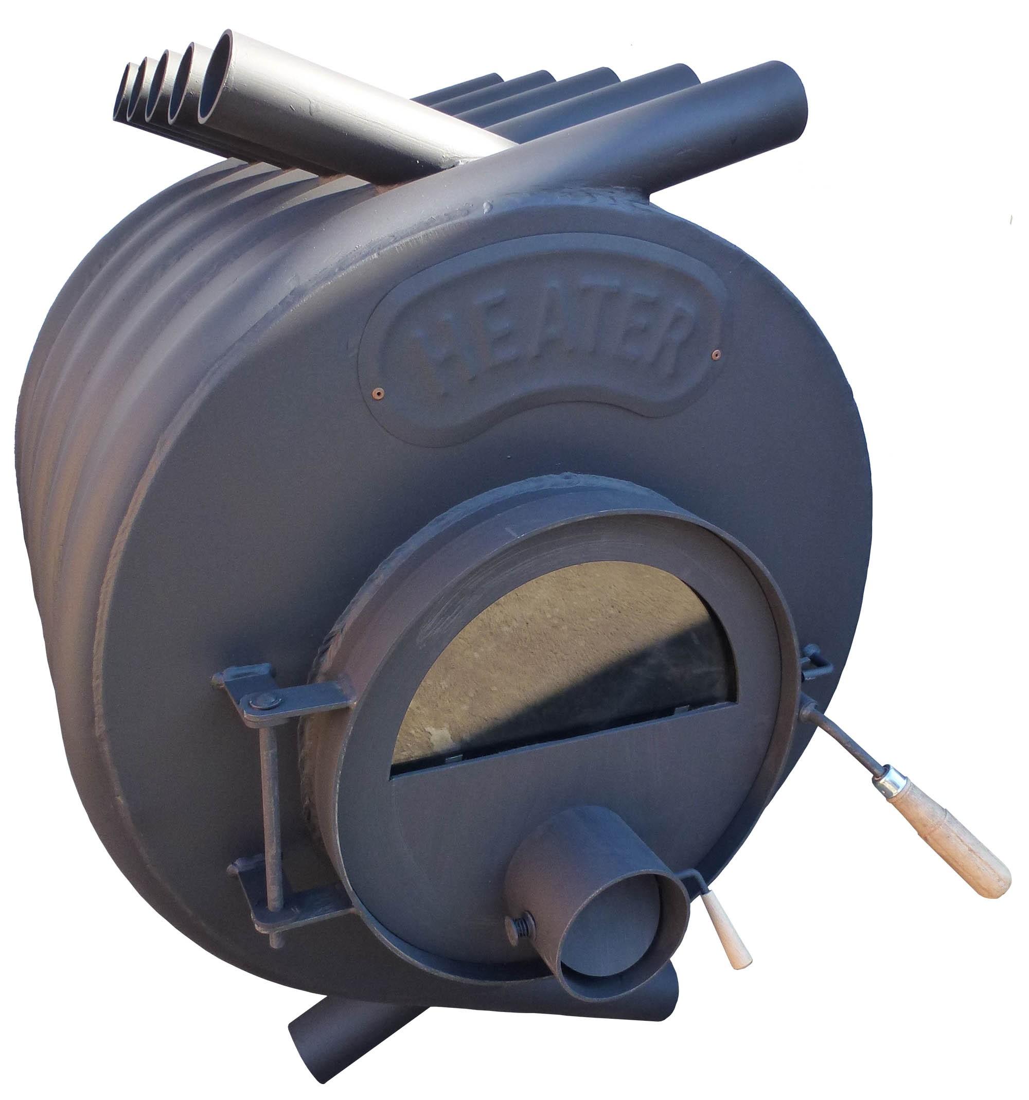 Teplovzdušná kamna na dřevo HEATER - 17 kW